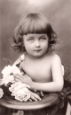 Royalty Free Photo of a Portrait of a Child