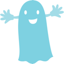 Royalty Free Clipart Image of a Ghost