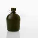 Royalty Free Photo of a Black Water Canteen