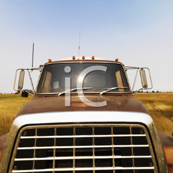 Royalty Free Photo of a Farm Truck
