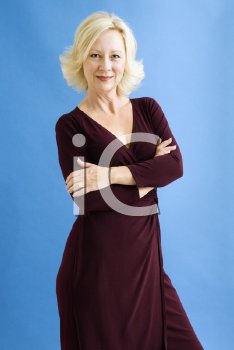 Royalty Free Photo of a Portrait of a Smiling Businesswoman