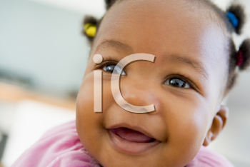 Royalty Free Photo of a Happy Baby