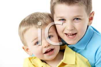 Royalty Free Photo of Two Boys