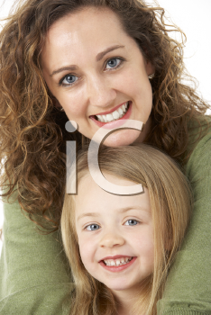 Royalty Free Photo of a Mother and Child