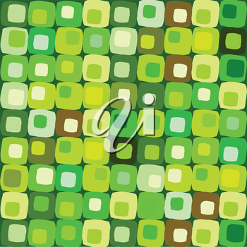 Royalty Free Clipart Image of a Tiled Pattern