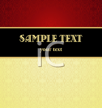 Royalty Free Clipart Image of a Template Design