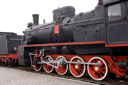 Royalty Free Photo of a Steam Engine