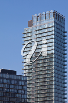 Royalty Free Photo of a Building in Toronto Ontario