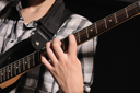 Royalty Free Photo of a Guitarist