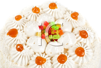 Royalty Free Photo of a Fruit Jelly Cake