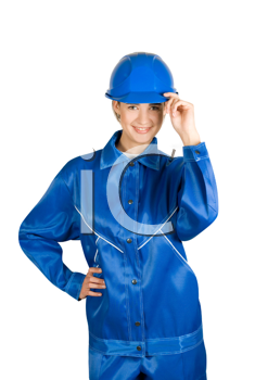 Royalty Free Photo of a Female Builder