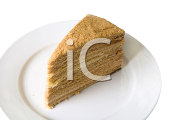 Royalty Free Photo of a Piece of Pie