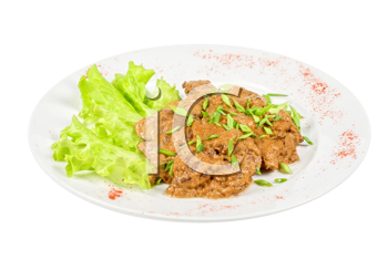 Royalty Free Photo of Fried Liver