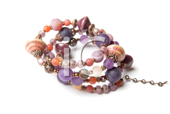 Royalty Free Photo of a Bracelet With Gems
