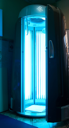 Royalty Free Photo of a Vertical Solarium