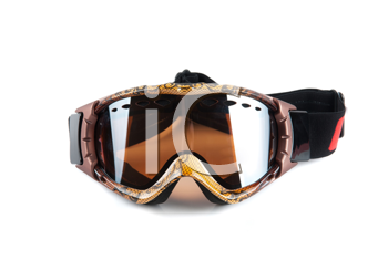 skier mask isolated on a white background