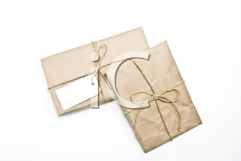 Royalty Free Photo of Carton Box Post Packages