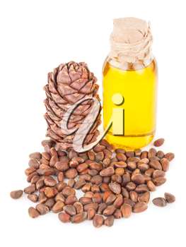 cedar oil and nuts