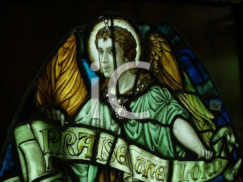 Royalty Free Photo of a Stained Glass Window