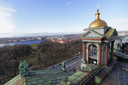 SAINT PETERSBURG, RUSSIA - APRIL 22:Street views of Saint Petersburg, Russia on April 22, 2015.