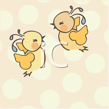 Royalty Free Clipart Image of Birds