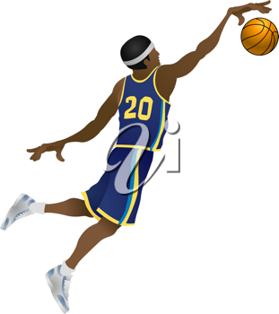 Dunking illustrations and royalty-free clipart images