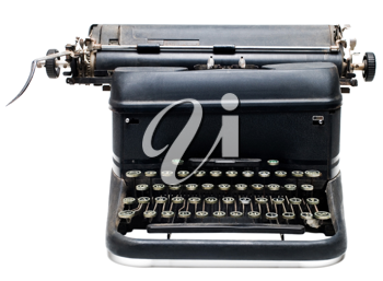 Royalty Free Photo of a Old Fashioned Typewriter