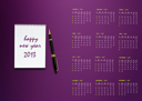 New year 2013 Calendar with conceptual image of new year greeting.