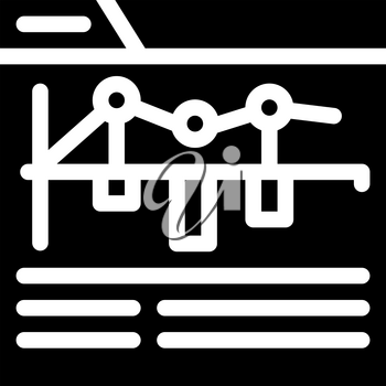 internet betting monitoring infographic glyph icon vector. internet betting monitoring infographic sign. isolated contour symbol black illustration