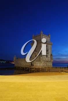 Royalty Free Photo of the Belem Tower in Portugal