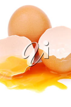 Royalty Free Photo of Broken Eggs