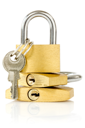 Royalty Free Photo of Padlocks