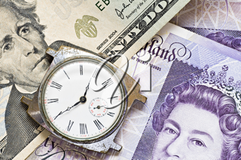 Royalty Free Photo of a Time is Money Concept