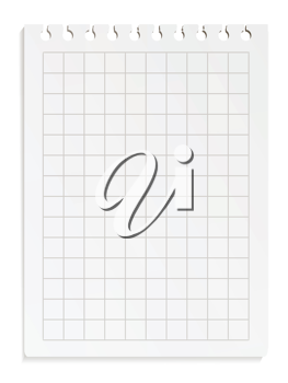 Royalty Free Clipart Image of a Piece of Paper
