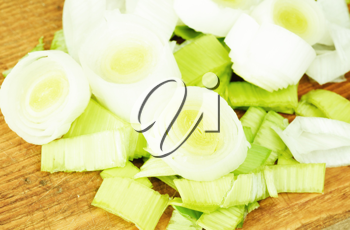 Royalty Free Photo of Chopped Onions