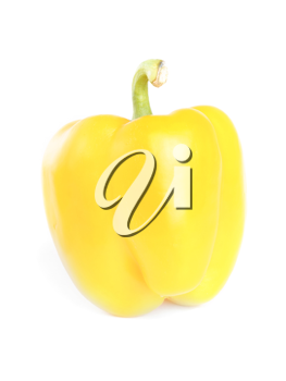 Royalty Free Photo of a Yellow Pepper