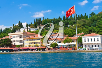 View of Istanbul as seen from Bosphorus, Turkey