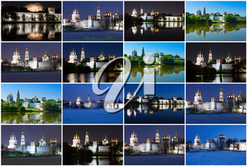 Beautiful photos of Novodevichy Convent in Moscow, Russia