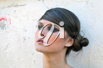 Royalty Free Photo of a Woman Posing