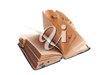 Royalty Free Photo of an Opened Book