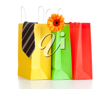 Royalty Free Photo of Shopping Bags