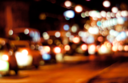 Royalty Free Photo of a Blurred Urban Scene