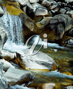 Royalty Free Photo of a Waterfall
