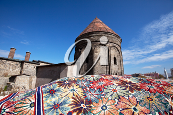 Royalty Free Photo of a Building in Erzurum, Turkey
