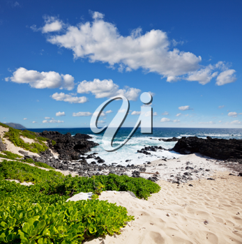 Royalty Free Photo of Oahu Island