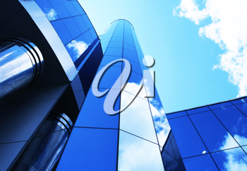 Royalty Free Photo of a Modern Office Building