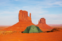 Royalty Free Photo of Monument Valley