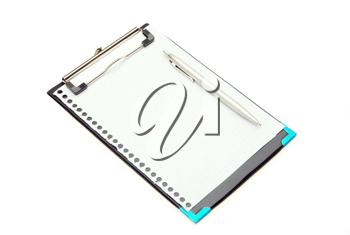 Royalty Free Photo of a Clipboard With Paper