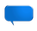 Speech bubbles ready for your text