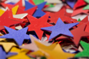 Royalty Free Photo of Colourful Stars